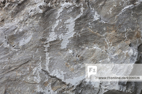 Steinbruch  Carrara  Toskana  Italien  Europa