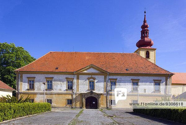 Chateau  Dalesice  Trebic district  Vysocina region  Czech Republic