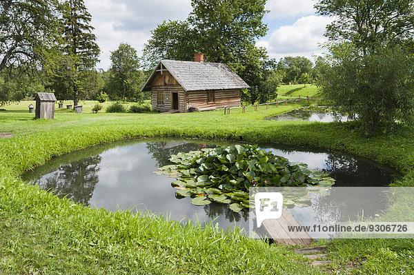 Badehaus Lettland Bauernhofmuseum