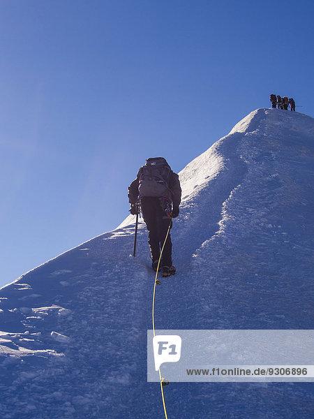 Alpen Monte Rosa Italien
