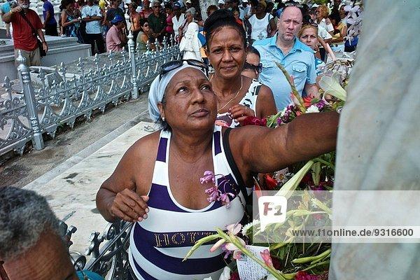 Havanna Hauptstadt Tag Gebet Regenwald Friedhof Wunder