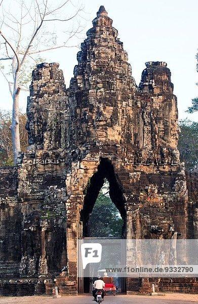 Angkor Thom South Gate  Angkor  Cambodia.
