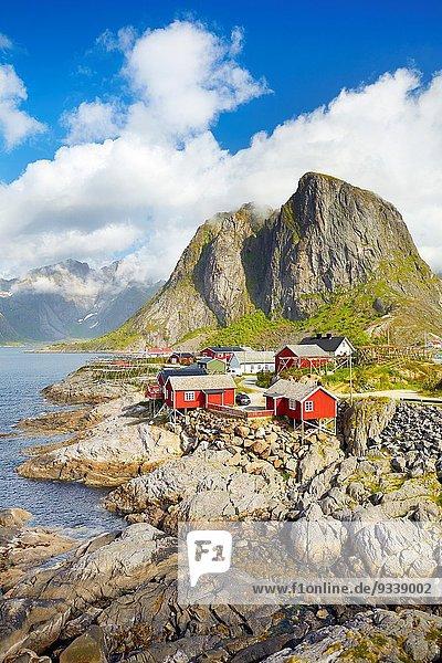 Norwegen Moskenes