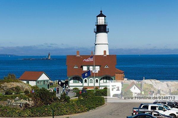 Vereinigte Staaten von Amerika USA Leuchtturm Maine