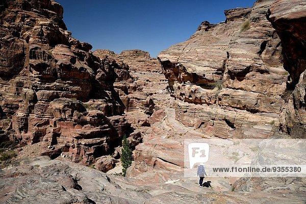 Großstadt antik Petra