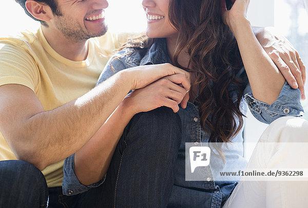 Zusammenhalt Entspannung lächeln