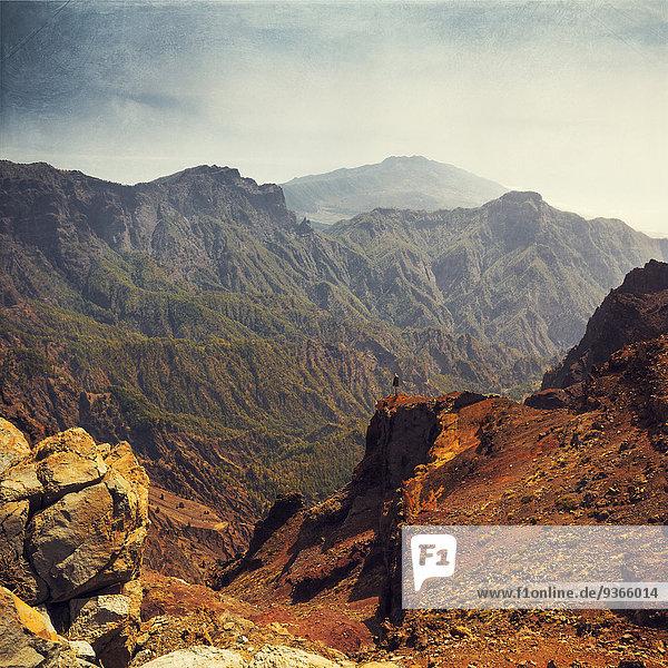 Spanien  Kanarische Inseln  La Palma  Nationalpark Caldera de Taburiente Spanien, Kanarische Inseln, La Palma, Nationalpark Caldera de Taburiente