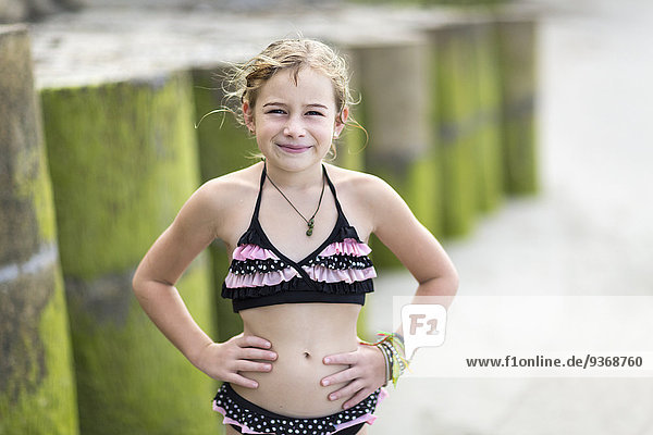 Europäer Strand Bikini Kleidung Mädchen