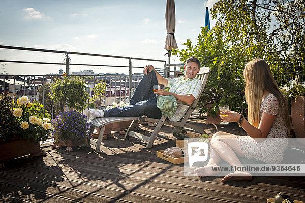 Dach Entspannung Terrasse