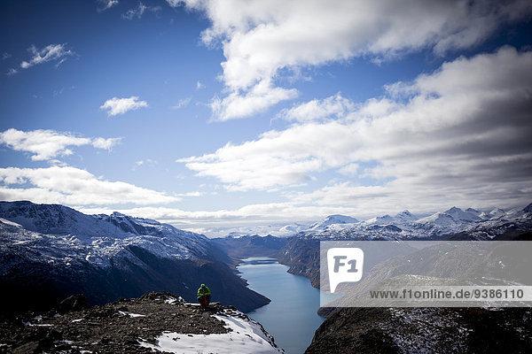 Landschaftlich schön landschaftlich reizvoll Berg wandern