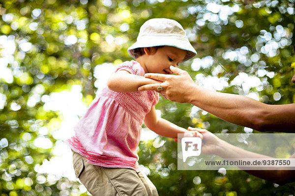 empfangen Wald Tochter Mutter - Mensch Hilfe