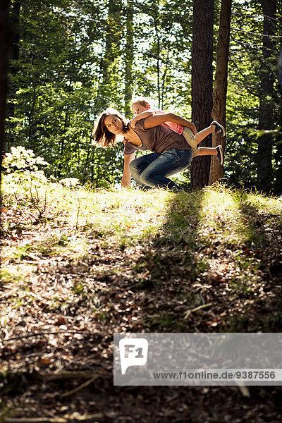 Wald Tochter Mutter - Mensch