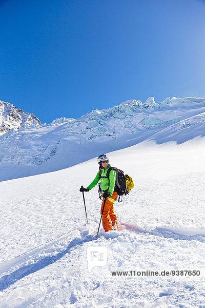 Landschaftlich schön landschaftlich reizvoll Skifahrer