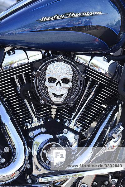 Vereinigte Staaten von Amerika USA Detail Details Ausschnitt Ausschnitte Amerika Arizona Motorrad Rudern Chrom Phoenix