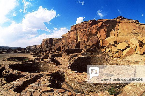 Wohnhaus antik Schlucht New Mexico