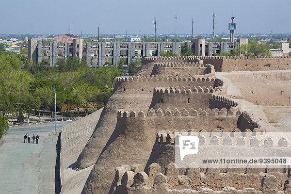 world heritage  Khiva  Khorezm  Region  Uzbekistan  Central Asia  Asia  architecture  bastion  city  history  silk road  touristic  travel  unesco  walls  west