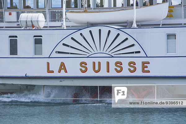 Europa See Boot Schiff Genfer See Genfersee Lac Leman Dampfer Schweiz