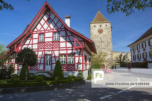 Europa Kanton Aargau Schweiz