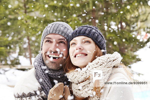 Zusammenhalt,Bewunderung,Schnee
