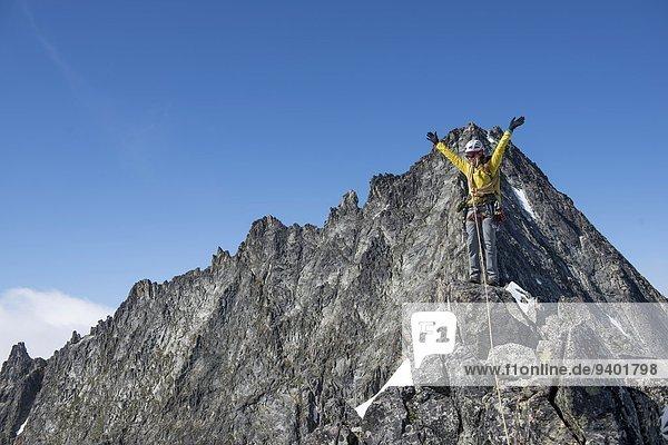Nationalpark Frau Ereignis verboten klettern