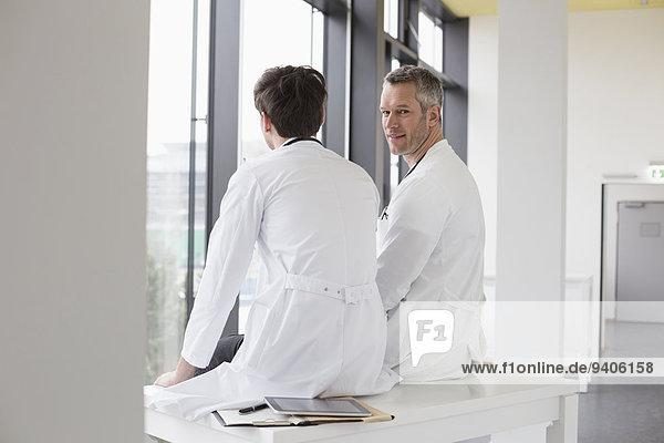 Doctors taking break