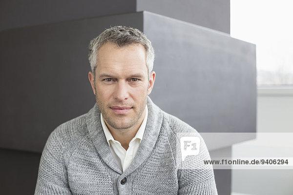 Close-up Portrait eines Geschäftsmannes