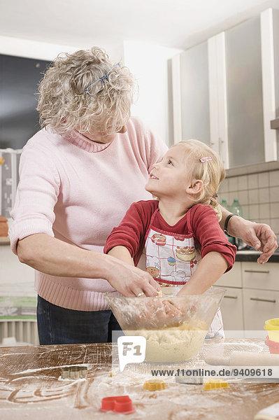 Vorbereitung Enkeltochter Keks