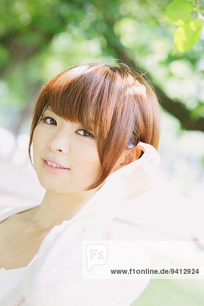 Portrait Frau jung japanisch