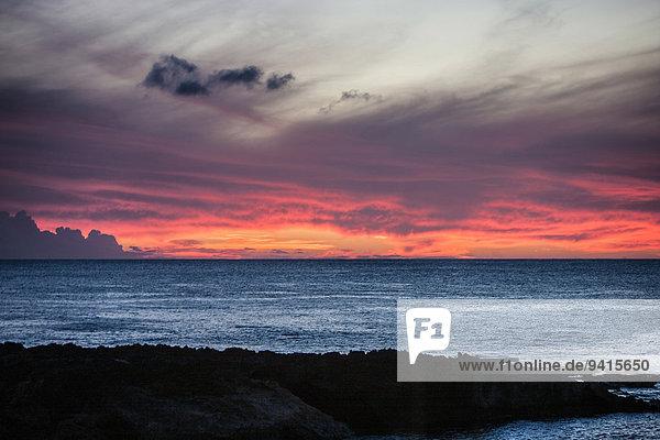 Wolke Himmel Meer Hawaii