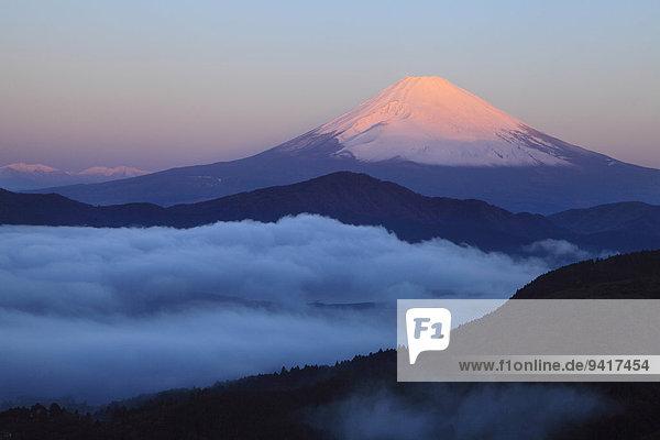 Ansicht Berg Fuji