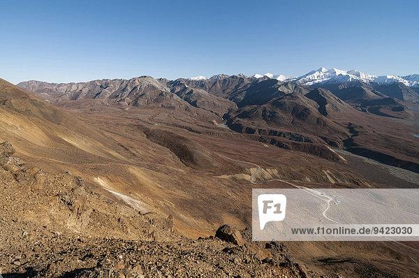 Alaska Range  Denali-Nationalpark  Alaska  USA