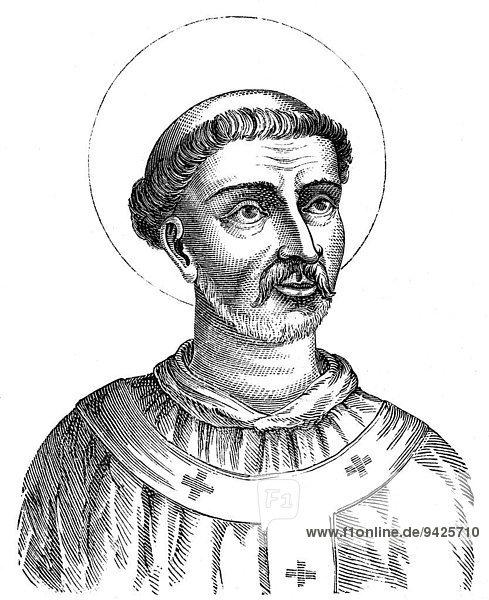 Pope Caius or Gaius  Cajus or Gajus  historical illustration