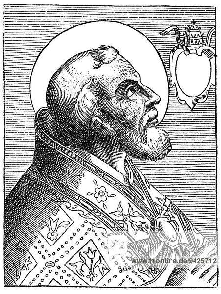 Pope Eusebius  historical illustration