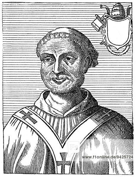 Pope Anastasius I  historical illustration