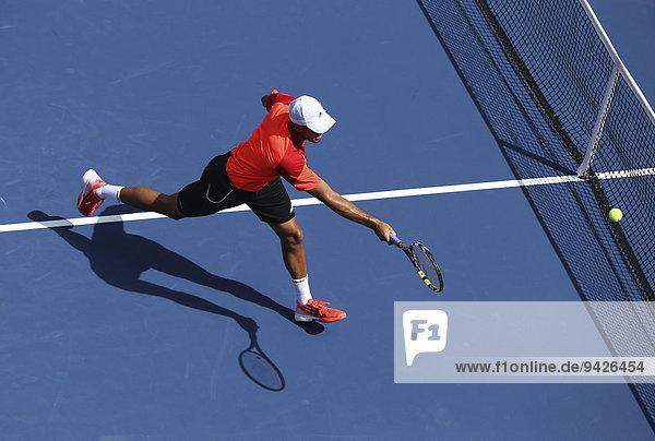 Jo-Wilfried Tsonga  FRA  US Open 2014  ITF Grand Slam Tennis Tournament  USTA Billie Jean King National Tennis Center  Flushing Meadows  New York  USA