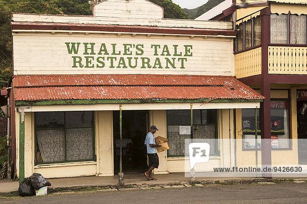 Hauptstrasse von Levuka  Ovalau  Fidschi