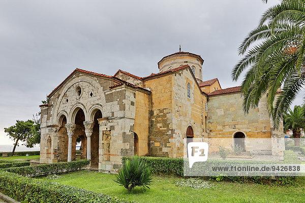 Ehemalige byzantinische Klosterkirche Hagia Sophia oder Ayasofya  Trabzon  Schwarzmeerküste  Schwarzmeerregion  Türkei
