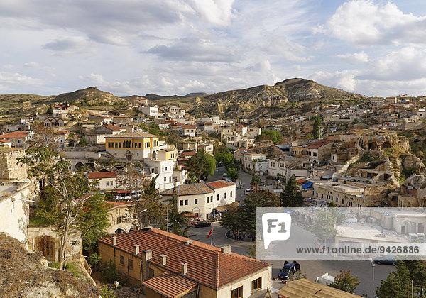 Ortsansicht  Mustafapa?a  Provinz Nev?ehir  Kappadokien  Zentralanatolien  Anatolien  Türkei