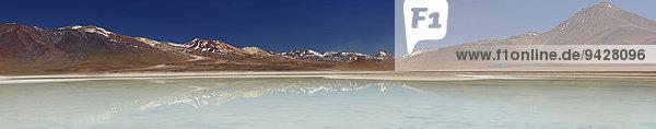 Laguna Blanca  Altiplano  Potosi  Bolivien  Südamerika