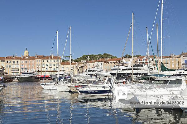 Hafen  Saint-Tropez  Cote d'Azur  Frankreich