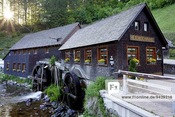Hexenlochmühle im Schwarzwald  Baden-Württemberg  Deutschland  Europa  ÖffentlicherGrund