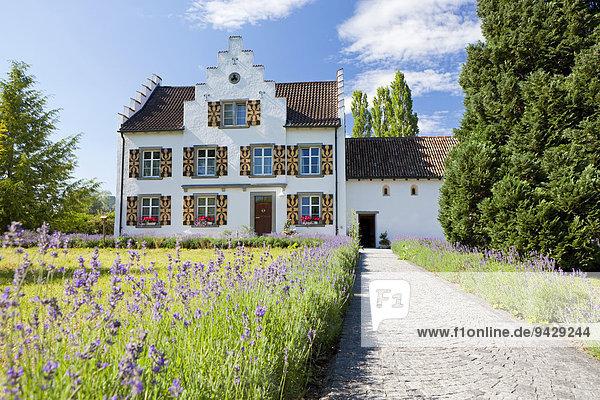 Kloster Werd auf der Insel Werd  Stein am Rhein  Schweiz  Europa  ÖffentlicherGrund