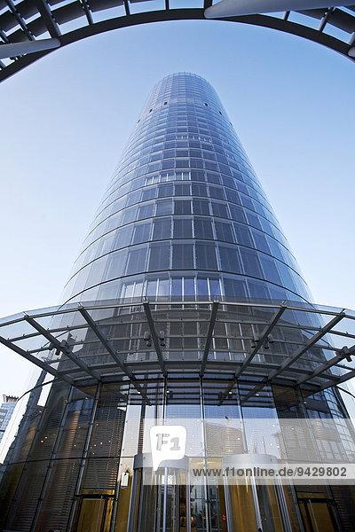 RWE Turm  Konzernzentrale  Essen  Ruhrgebiet  Nordrhein-Westfalen  Deutschland