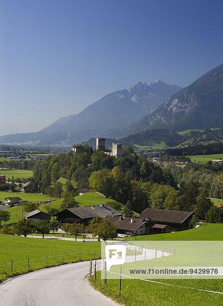 Burg Kropfsberg  Reith im Alpbachtal  Inntal  Tirol  Österreich