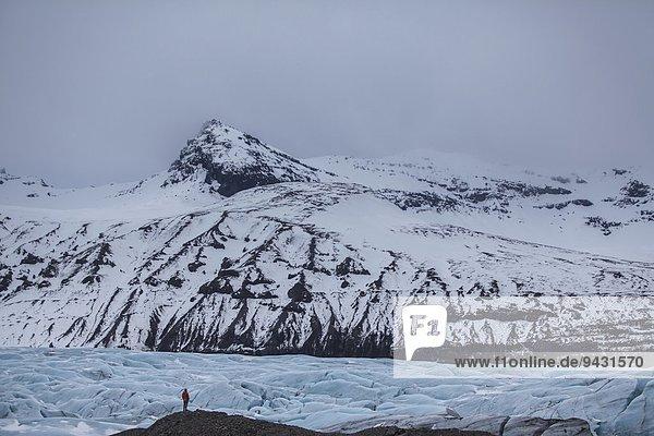 Skaftafell-Nationalpark  Vatnajokull  Island