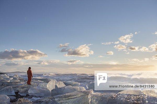 Skaftafell-Nationalpark  Jokulsarlon-Gletscherlagune  Island