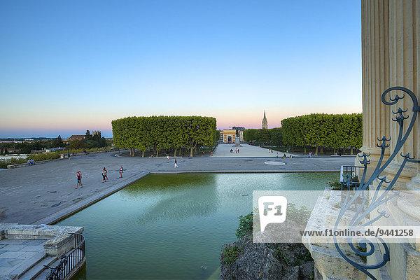 Place Royale du Peyrou  Montpellier  Languedoc-Roussillon  France  Europe