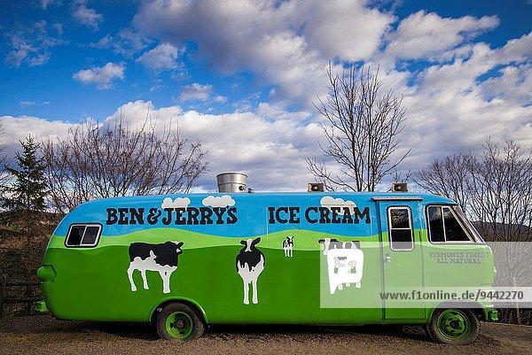 Vereinigte Staaten von Amerika USA Eis Big Ben Sahne Vermont