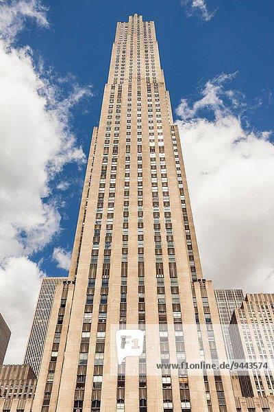Vereinigte Staaten von Amerika USA New York City Manhattan Rockefeller Center
