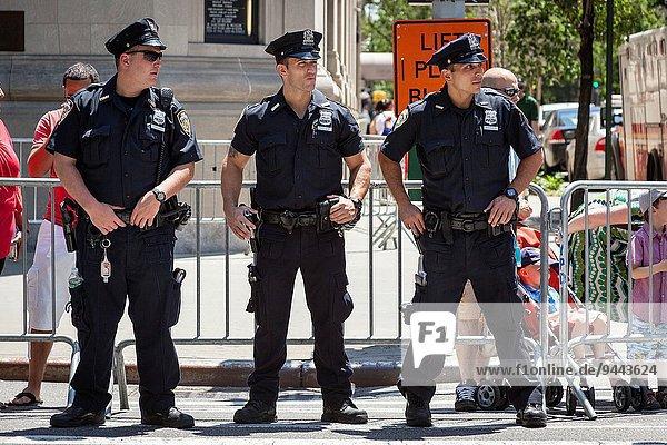 Vereinigte Staaten von Amerika USA Feuerwehr New York City 3 Polizei Manhattan neu